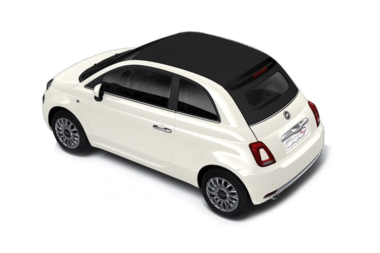 Fiat 500 C Convertible 1.0 MHEV 70PS Dolcevita Plus 2Dr Manual [Start Stop] back view