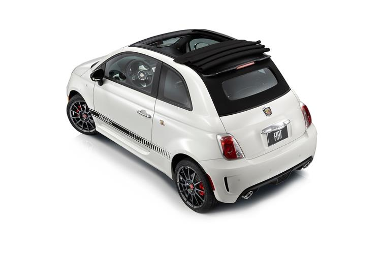 Abarth 595 C Cabrio 1.4 T-Jet 180PS EsseEsse 2Dr Auto back view