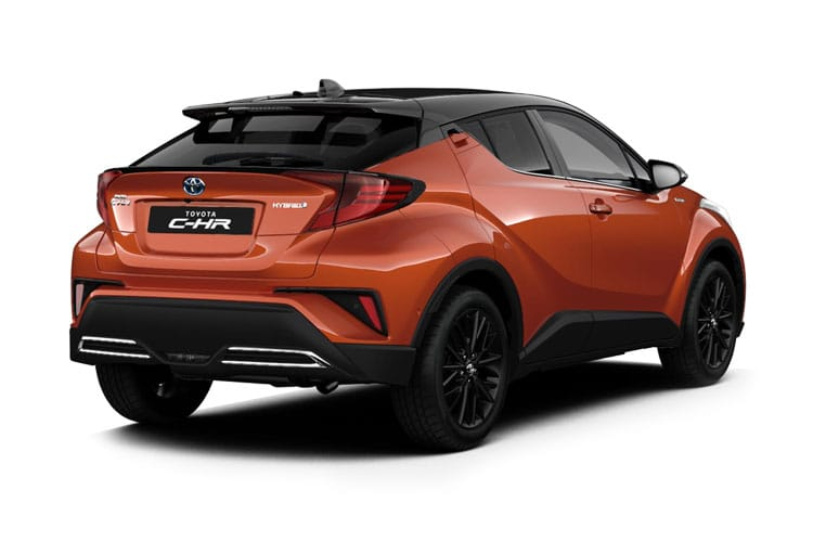 Toyota C-HR 5Dr 2.0 VVT-h 184PS Orange Edition 5Dr CVT [Start Stop] back view