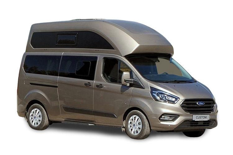 Ford Transit Custom Nugget 320 L1 M1 2.0 EcoBlue FWD 185PS  Camper Manual [Start Stop] back view