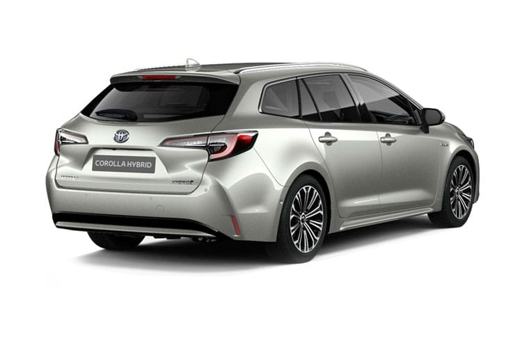 Toyota Corolla Touring Sports 2.0 VVT-h 184PS Excel 5Dr CVT [Start Stop] [Pan Roof] back view