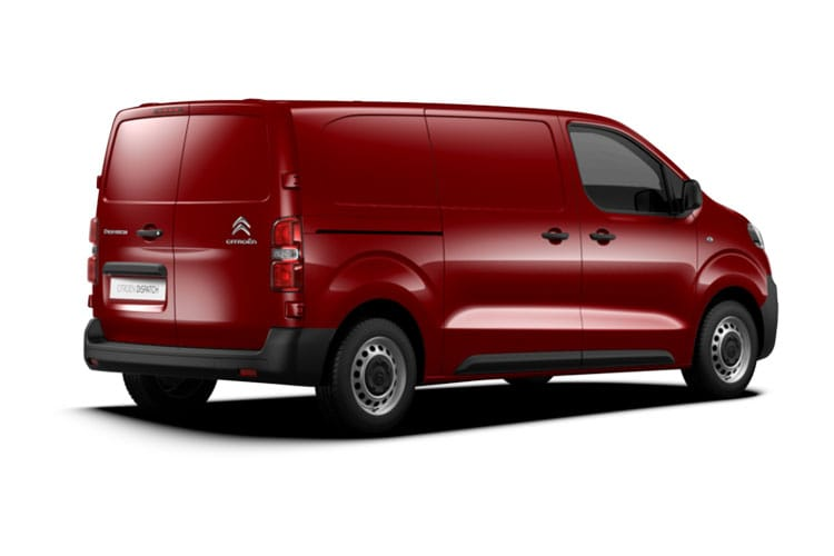 Citroen Dispatch M 1000Kg 1.5 BlueHDi FWD 100PS Enterprise Van Manual [Start Stop] back view