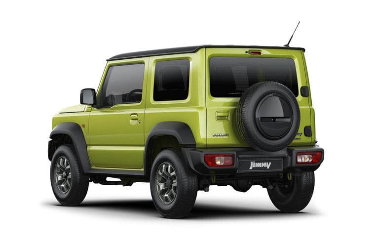 Suzuki Jimny SUV 3Dr ALLGRIP 1.5  101PS SZ5 3Dr Manual back view