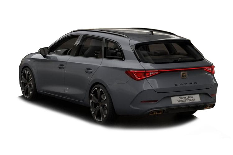 CUPRA Leon Estate 1.4 eHybrid PHEV 12.8kWh 245PS VZ3 5Dr DSG [Start Stop] back view