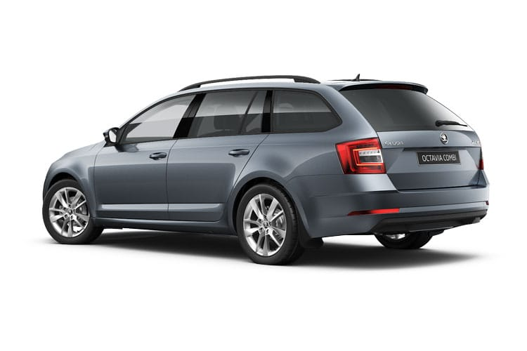 Skoda Octavia Estate 1.5 TSi ACT 150PS SE L 5Dr Manual [Start Stop] back view
