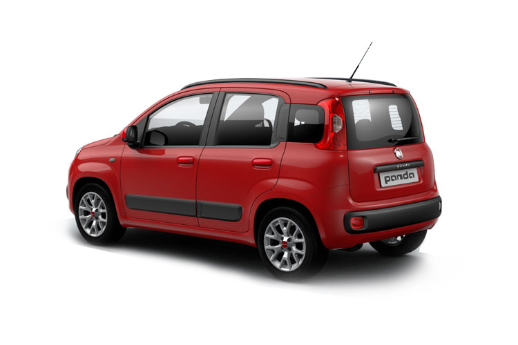 Fiat Panda Hatch 5Dr 4x4 0.9 TwinAir 85PS Cross 5Dr Manual [Start Stop] back view