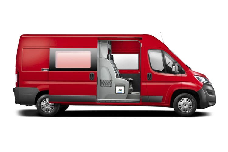 Citroen Relay 35 L3 2.2 BlueHDi FWD 140PS Ready to Run Enterprise Crew Van High Roof Manual [Start Stop] back view