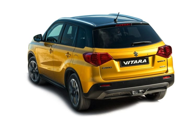 Suzuki Vitara SUV 1.4 Boosterjet 140PS SZ-T 5Dr Auto [Start Stop] back view