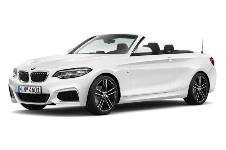 BMW 2 Series 218 Convertible 2.0 d 150PS Sport 2Dr Auto [Start Stop] front view