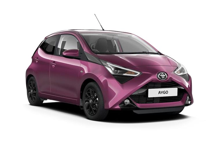 Toyota Aygo Hatch 5Dr 1.0 VVTi 71PS x-play 5Dr Manual front view