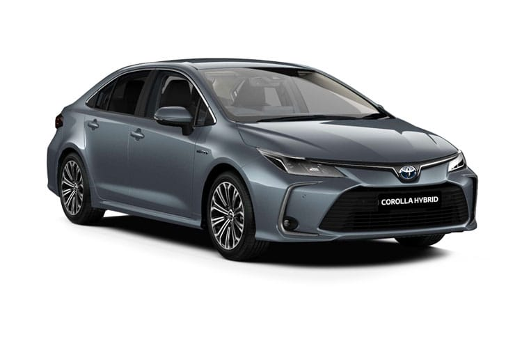 Toyota Corolla Saloon 1.8 VVT-h 122PS Design 4Dr CVT [Start Stop] front view