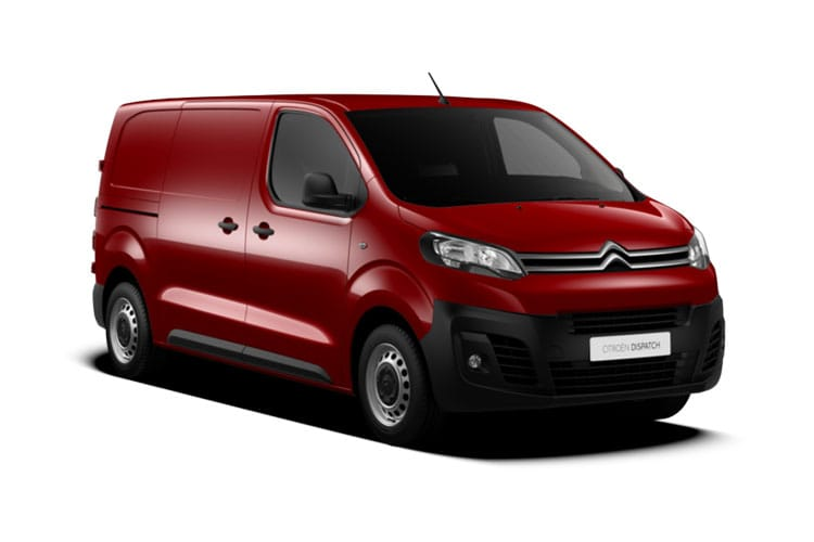 Citroen Dispatch XL 1200Kg 1.5 BlueHDi FWD 100PS X Van Manual [Start Stop] front view
