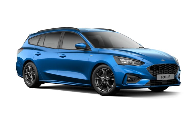Ford Focus Estate 2.0 EcoBlue 150PS Titanium Edition 5Dr Manual [Start Stop] front view