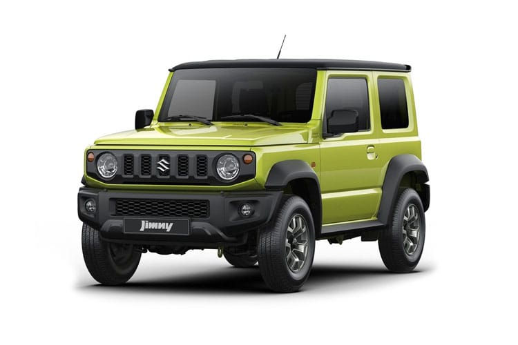 Suzuki Jimny SUV 3Dr ALLGRIP 1.5  101PS SZ5 3Dr Manual front view