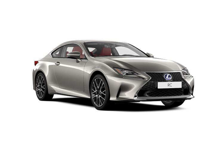 Lexus RC 300h Coupe 2.5 h 223PS F-Sport 2Dr E-CVT [Start Stop] [SRoof] front view