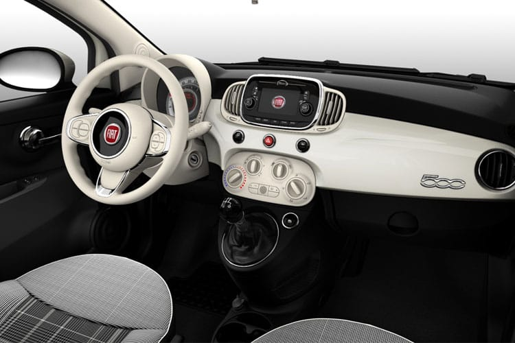 Fiat 500 C Convertible 1.0 MHEV 70PS Dolcevita Plus 2Dr Manual [Start Stop] inside view