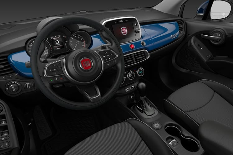 Fiat 500X SUV 1.0 FireFly Turbo 120PS Sport 5Dr Manual [Start Stop] inside view