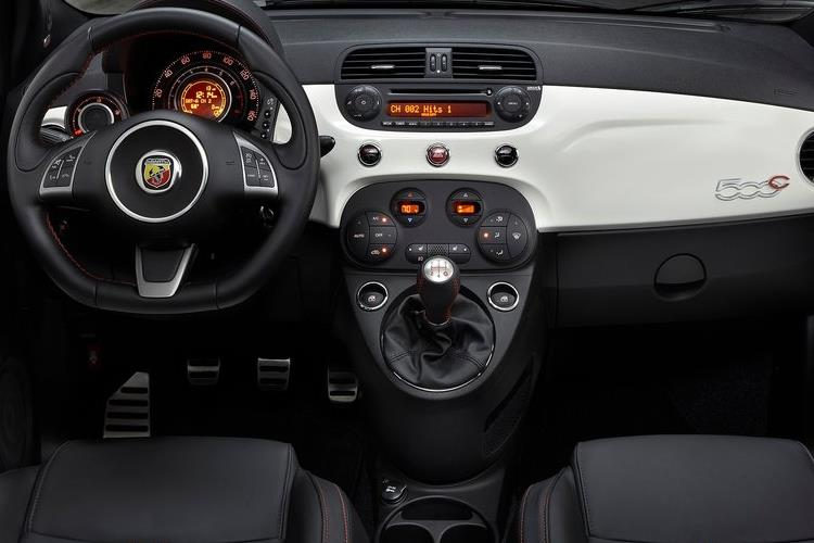 Abarth 595 C Cabrio 1.4 T-Jet 180PS EsseEsse 2Dr Auto inside view