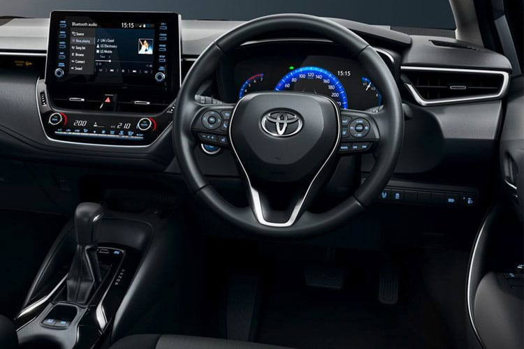 Toyota Corolla Saloon 1.8 VVT-h 122PS Design 4Dr CVT [Start Stop] inside view