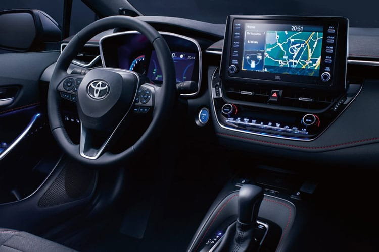 Toyota Corolla Touring Sports 2.0 VVT-h 184PS Excel 5Dr CVT [Start Stop] [Pan Roof] inside view