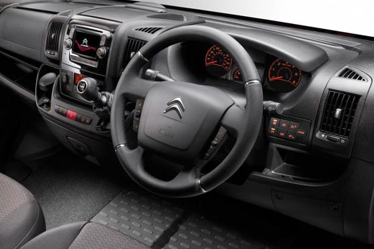 Citroen Relay 35 L3 2.2 BlueHDi FWD 165PS Plus Chassis Double Cab Manual [Start Stop] inside view
