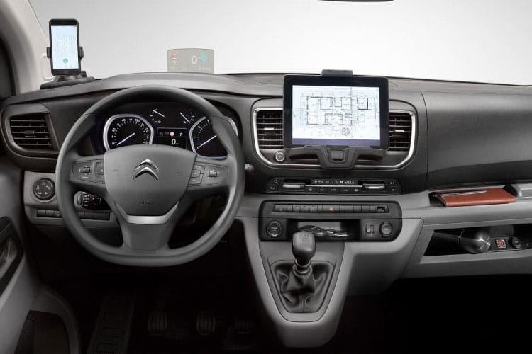 Citroen Dispatch XL 1200Kg 1.5 BlueHDi FWD 100PS X Van Manual [Start Stop] inside view