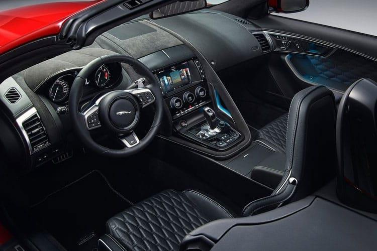 Jaguar F-TYPE Convertible 2.0 i 300PS R-Dynamic 2Dr Auto [Start Stop] inside view