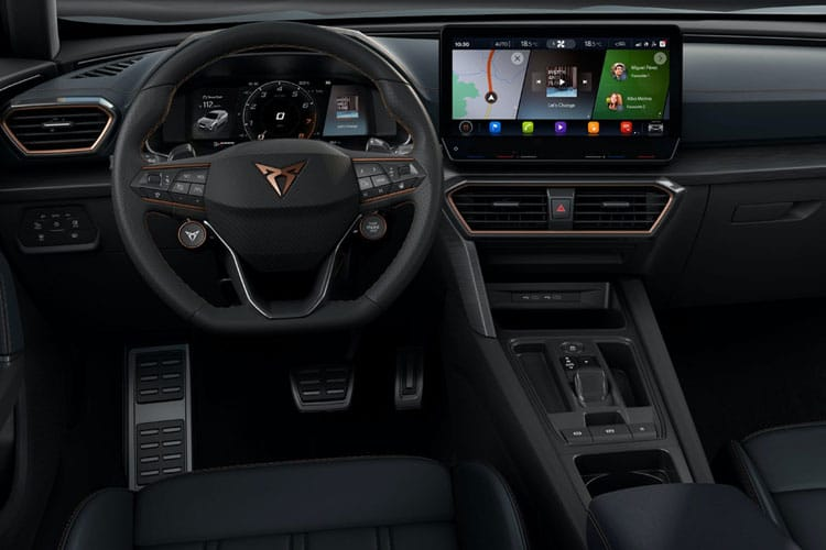 CUPRA Formentor SUV 1.5 TSI 150PS V2 5Dr Manual [Start Stop] inside view