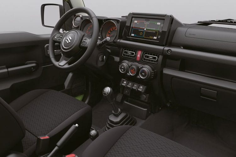 Suzuki Jimny SUV 3Dr ALLGRIP 1.5  101PS SZ5 3Dr Manual inside view