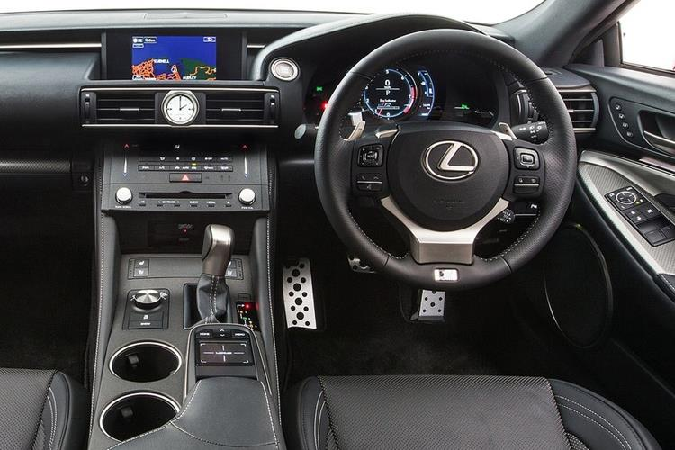 Lexus RC 300h Coupe 2.5 h 223PS F-Sport 2Dr E-CVT [Start Stop] [SRoof] inside view