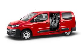 Citroen Berlingo Crew Van XL 850Kg 1.5 BlueHDi FWD 100PS Enterprise Crew Van Manual [Start Stop]