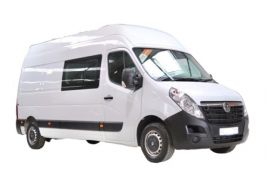 Vauxhall Movano Crew Van F35 L2 2.3 CDTi BiTurbo FWD 135PS Edition Crew Van Medium Roof Manual