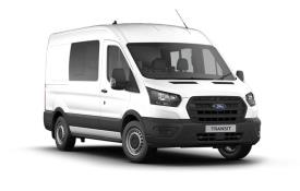 Ford Transit Crew Van 350 L2 RWD 2.0 EcoBlue RWD 170PS Trend Crew Van Medium Roof Manual [Start Stop] [DCiV]